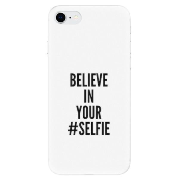 Odolné silikonové pouzdro iSaprio - Selfie - iPhone SE 2020