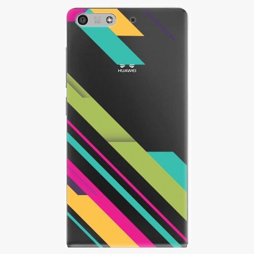 Plastový kryt iSaprio - Color Stripes 03 - Huawei Ascend P7 Mini