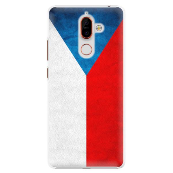 Plastové pouzdro iSaprio - Czech Flag - Nokia 7 Plus