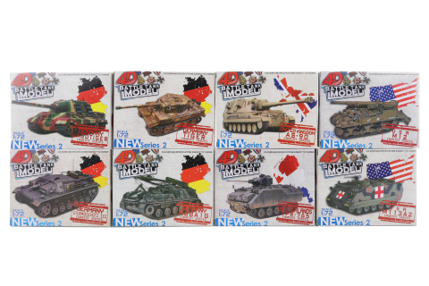Stavebnice 4D Tank 8 /bal
