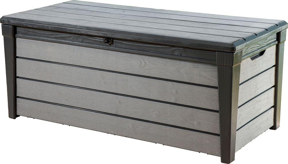 Zahradní box BRUSHWOOD - antracit + šedý