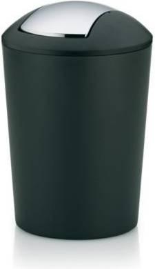 Koš na odpadky černo-šedý