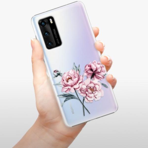 Plastové pouzdro iSaprio - Poeny - Huawei P40