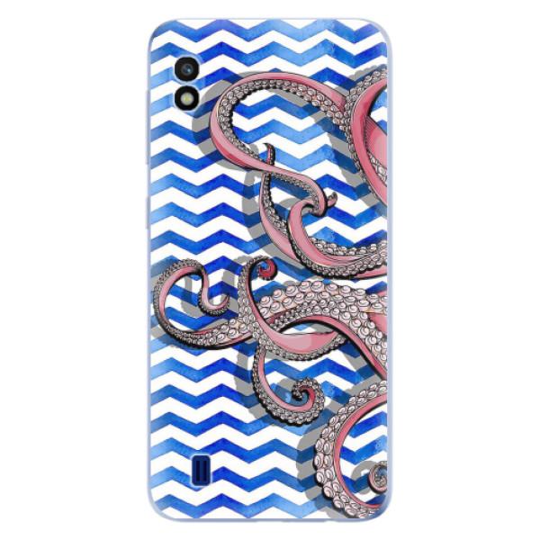 Odolné silikonové pouzdro iSaprio - Octopus - Samsung Galaxy A10