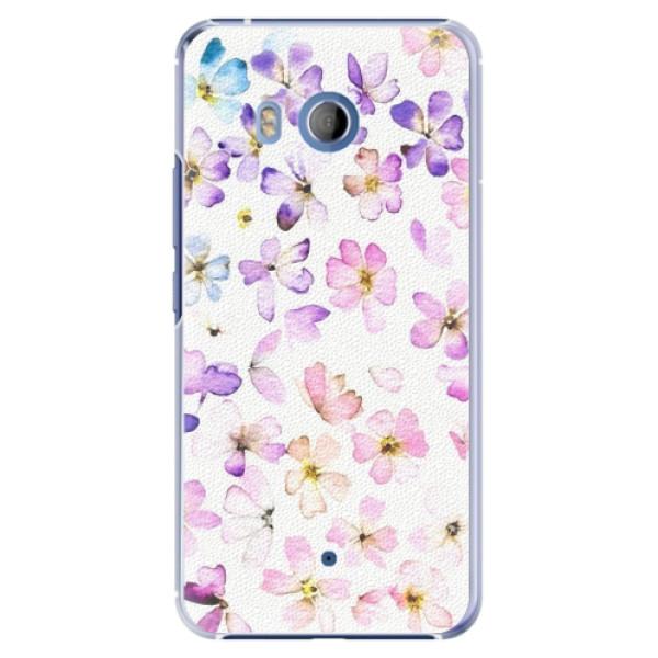 Plastové pouzdro iSaprio - Wildflowers - HTC U11