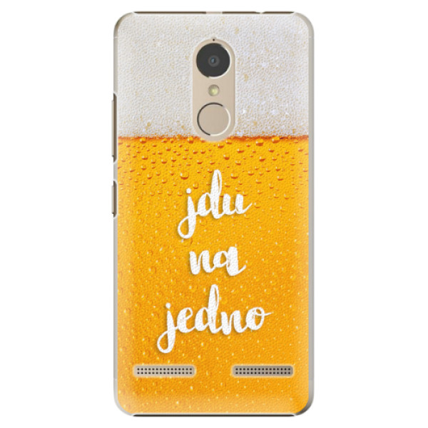 Plastové pouzdro iSaprio - Jdu na jedno - Lenovo K6