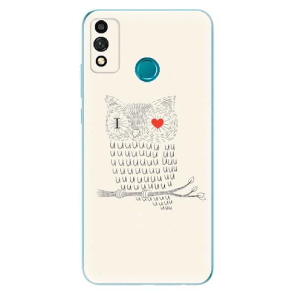 Odolné silikonové pouzdro iSaprio - I Love You 01 - Honor 9X Lite
