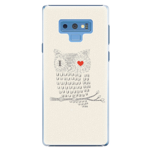 Plastové pouzdro iSaprio - I Love You 01 - Samsung Galaxy Note 9