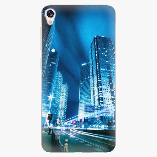 Plastový kryt iSaprio - Night City Blue - Asus ZenFone Live ZB501KL
