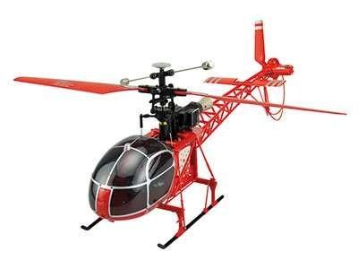 Jednorotorový vrtulník Lama 4Ch