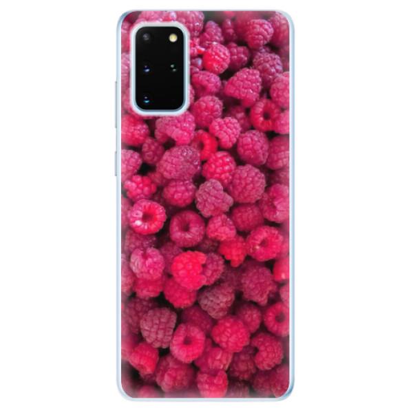 Odolné silikonové pouzdro iSaprio - Raspberry - Samsung Galaxy S20+