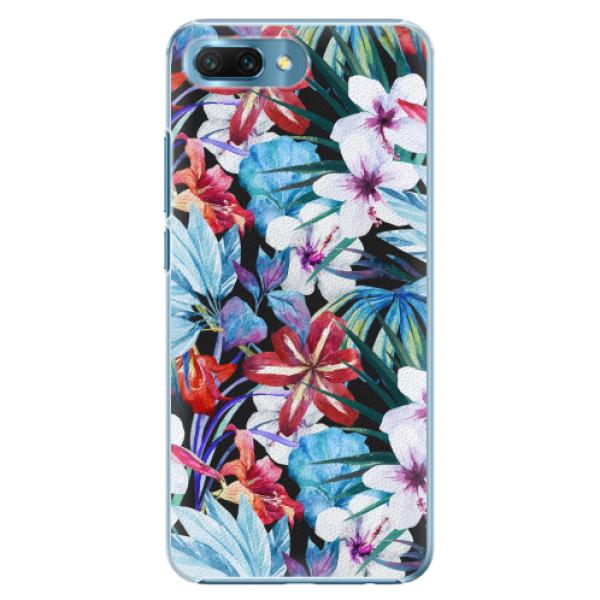 Plastové pouzdro iSaprio - Tropical Flowers 05 - Huawei Honor 10