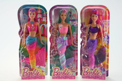 Barbie Mořská panna DHM45
