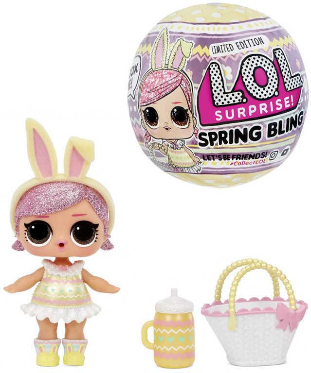 L.O.L. Surprise Spring Bling panenka jarní velikonoční 7 překvapení v kouli