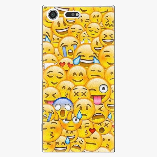 Plastový kryt iSaprio - Emoji - Sony Xperia XZ Premium