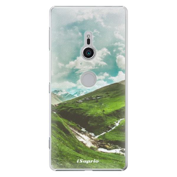 Plastové pouzdro iSaprio - Green Valley - Sony Xperia XZ2