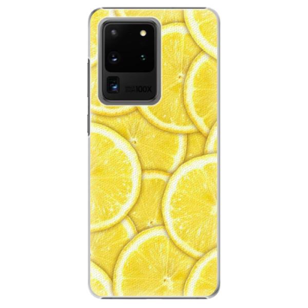 Plastové pouzdro iSaprio - Yellow - Samsung Galaxy S20 Ultra