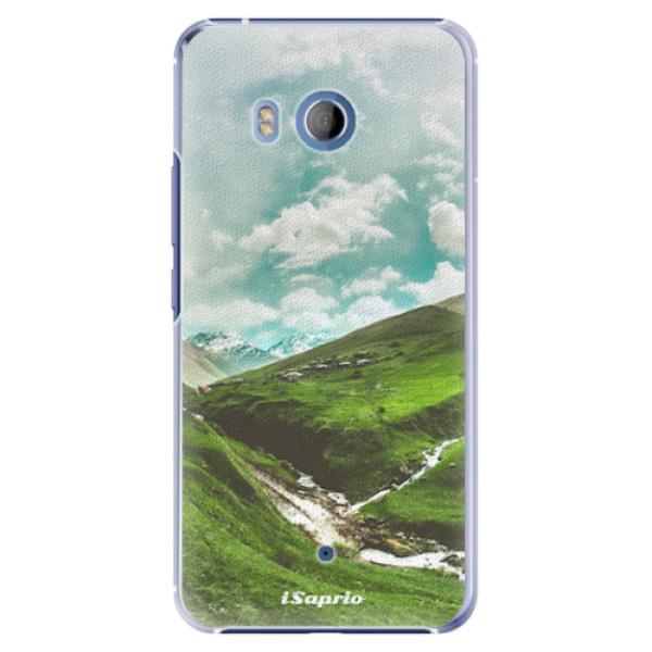 Plastové pouzdro iSaprio - Green Valley - HTC U11