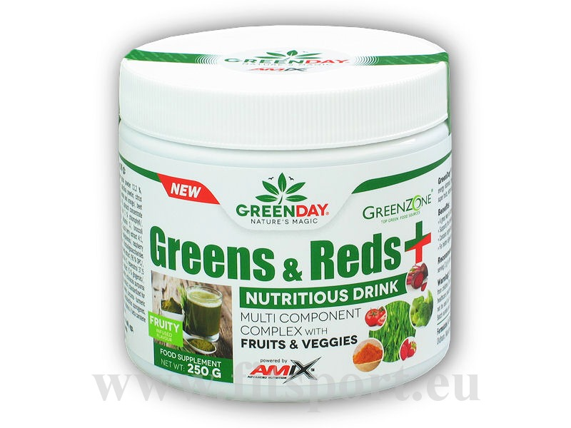 Greens and Reds+ 250g-fruity