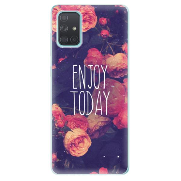 Odolné silikonové pouzdro iSaprio - Enjoy Today - Samsung Galaxy A71