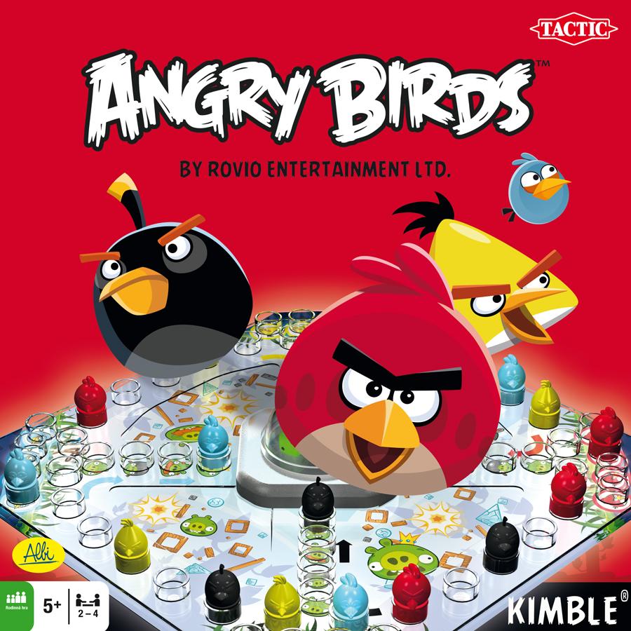 Angry Birds Člověče