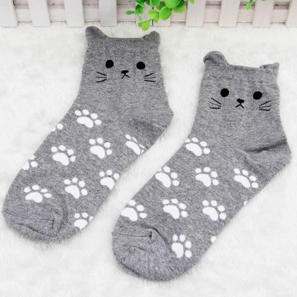 Kočičí ponožky - šedé