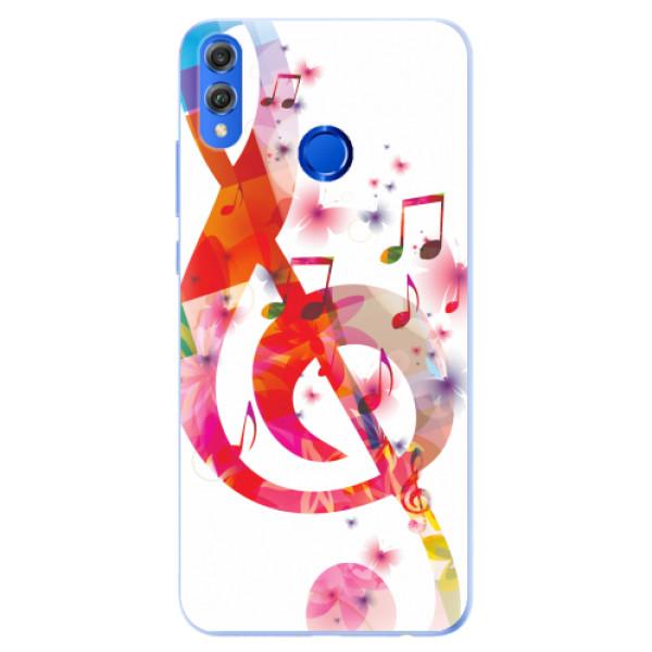 Silikonové pouzdro iSaprio - Love Music - Huawei Honor 8X
