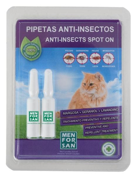 Antiparazitní pipety pro kočky 2 x 1,5ml