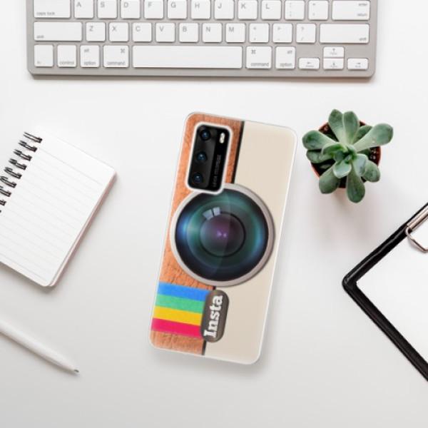 Odolné silikonové pouzdro iSaprio - Insta - Huawei P40