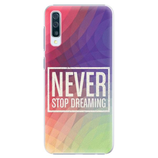 Plastové pouzdro iSaprio - Dreaming - Samsung Galaxy A50