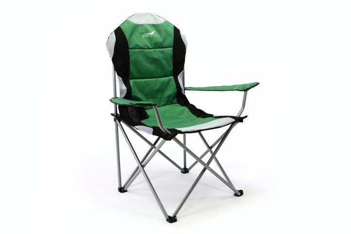 skladaci-kempingova-rybarska-zidle-divero-deluxe-zeleno-cerna