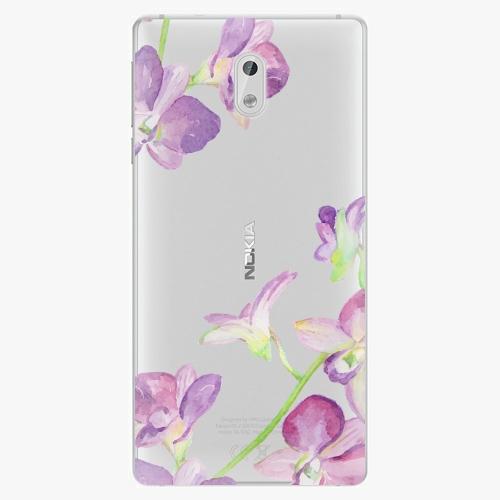 Plastový kryt iSaprio - Purple Orchid - Nokia 3