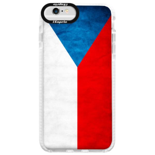 Silikonové pouzdro Bumper iSaprio - Czech Flag - iPhone 6/6S