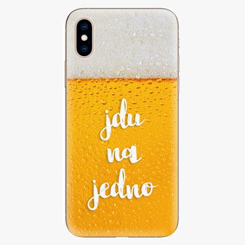 Plastový kryt iSaprio - Jdu na jedno - iPhone XS