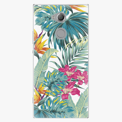 Plastový kryt iSaprio - Tropical White 03 - Sony Xperia XA2 Ultra