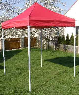 Zahradní  párty přístřešek CLASSIC nůžkový - 2 x 2 m červený