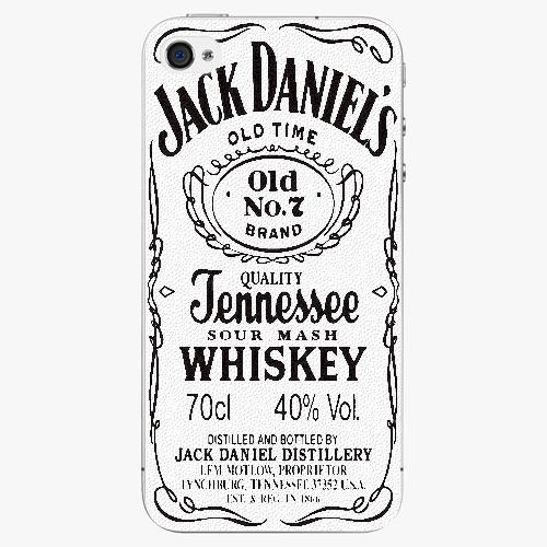 Plastový kryt iSaprio - Jack White - iPhone 4/4S
