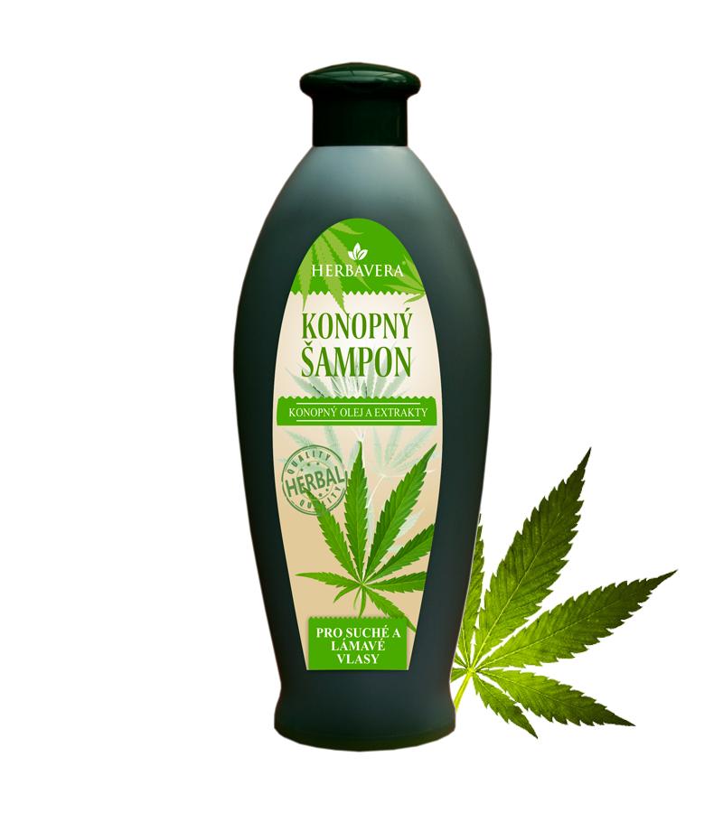 Konopný šampon na suché a lámavé vlasy 550 ml