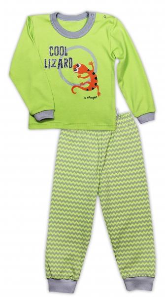 bavlnene-pyzamko-nicol-jesterka-zigzag-hraskove-zelena-80-9-12m