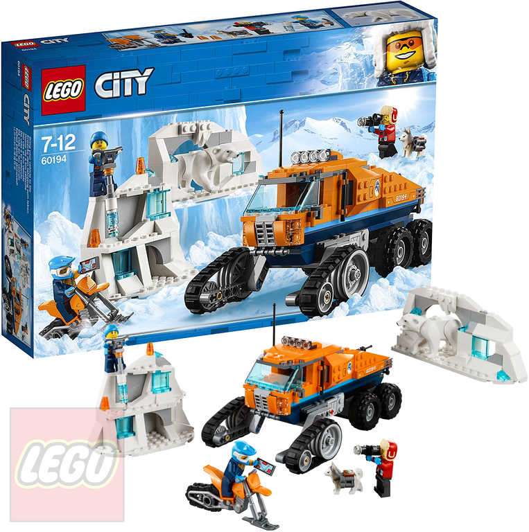 LEGO CITY Průzkumné polární vozidlo 60194 STAVEBNICE