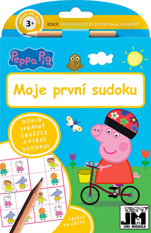 JIRI MODELS Moje první sudoku Peppa;
