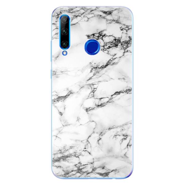Odolné silikonové pouzdro iSaprio - White Marble 01 - Huawei Honor 20 Lite