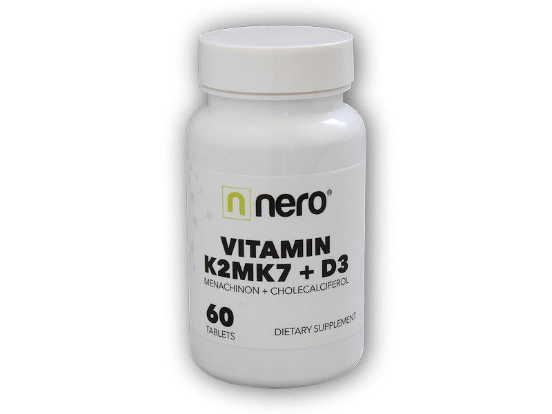 Vitamin K2MK7+D3 60 kapslí
