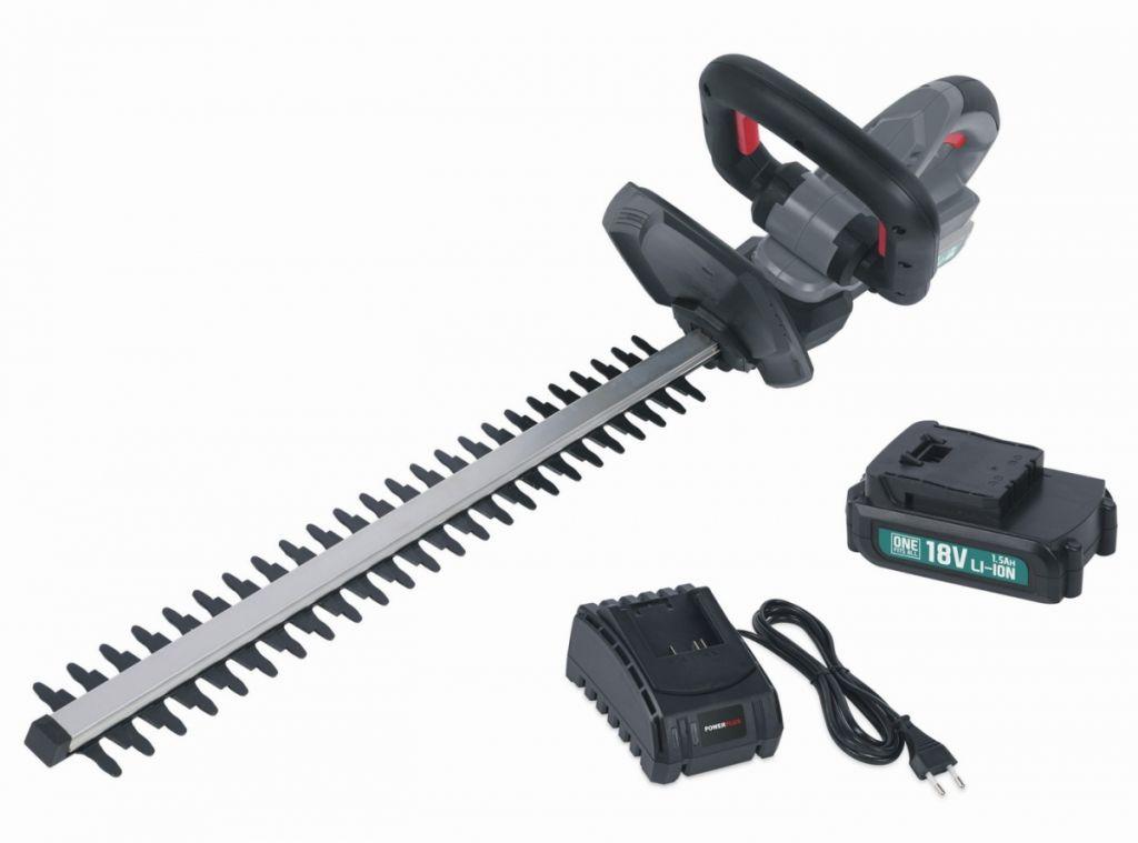 Powerplus nůžky na živý plot - 18 V