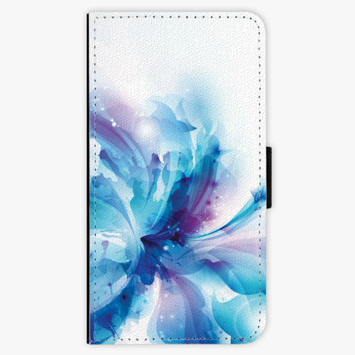 Flipové pouzdro iSaprio - Abstract Flower - Huawei Nova