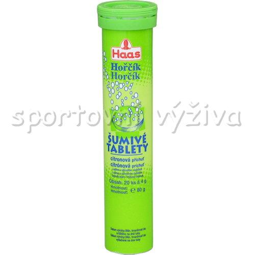 Haas Hořčík citron 20 šumivých tablet