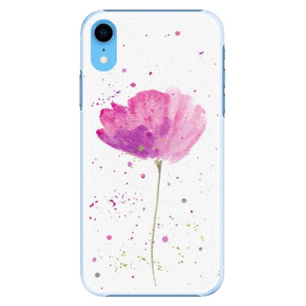 Plastové pouzdro iSaprio - Poppies - iPhone XR