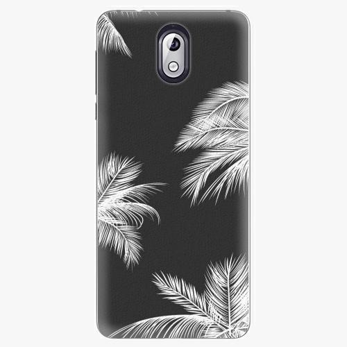 Plastový kryt iSaprio - White Palm - Nokia 3.1