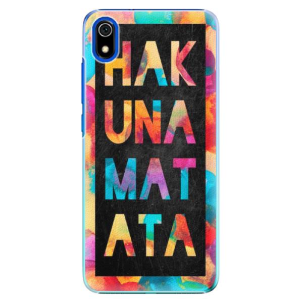 Plastové pouzdro iSaprio - Hakuna Matata 01 - Xiaomi Redmi 7A