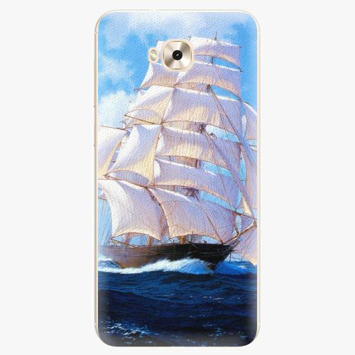 Plastový kryt iSaprio - Sailing Boat - Asus ZenFone 4 Selfie ZD553KL